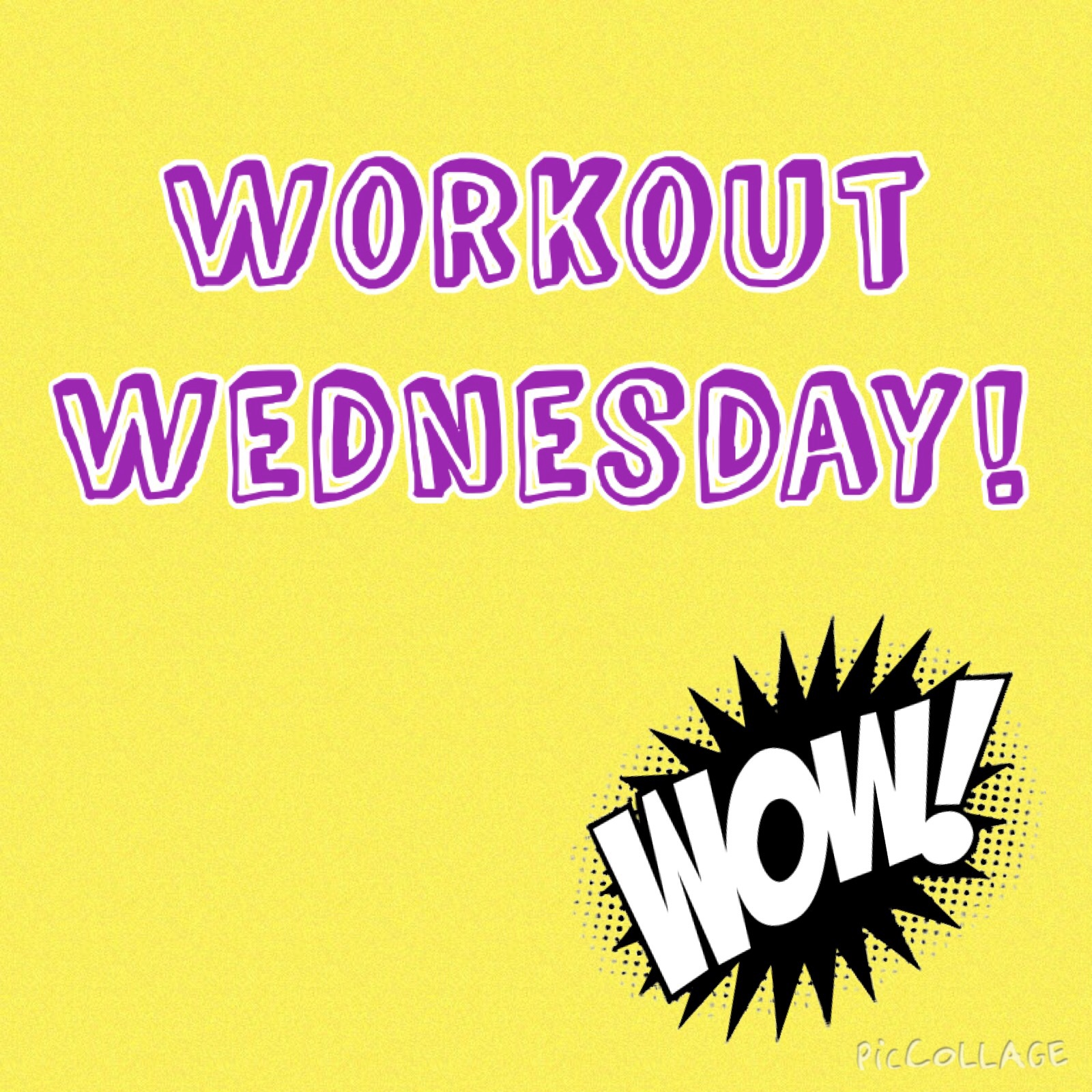 Image result for WORK OUT WEDNESDAY
