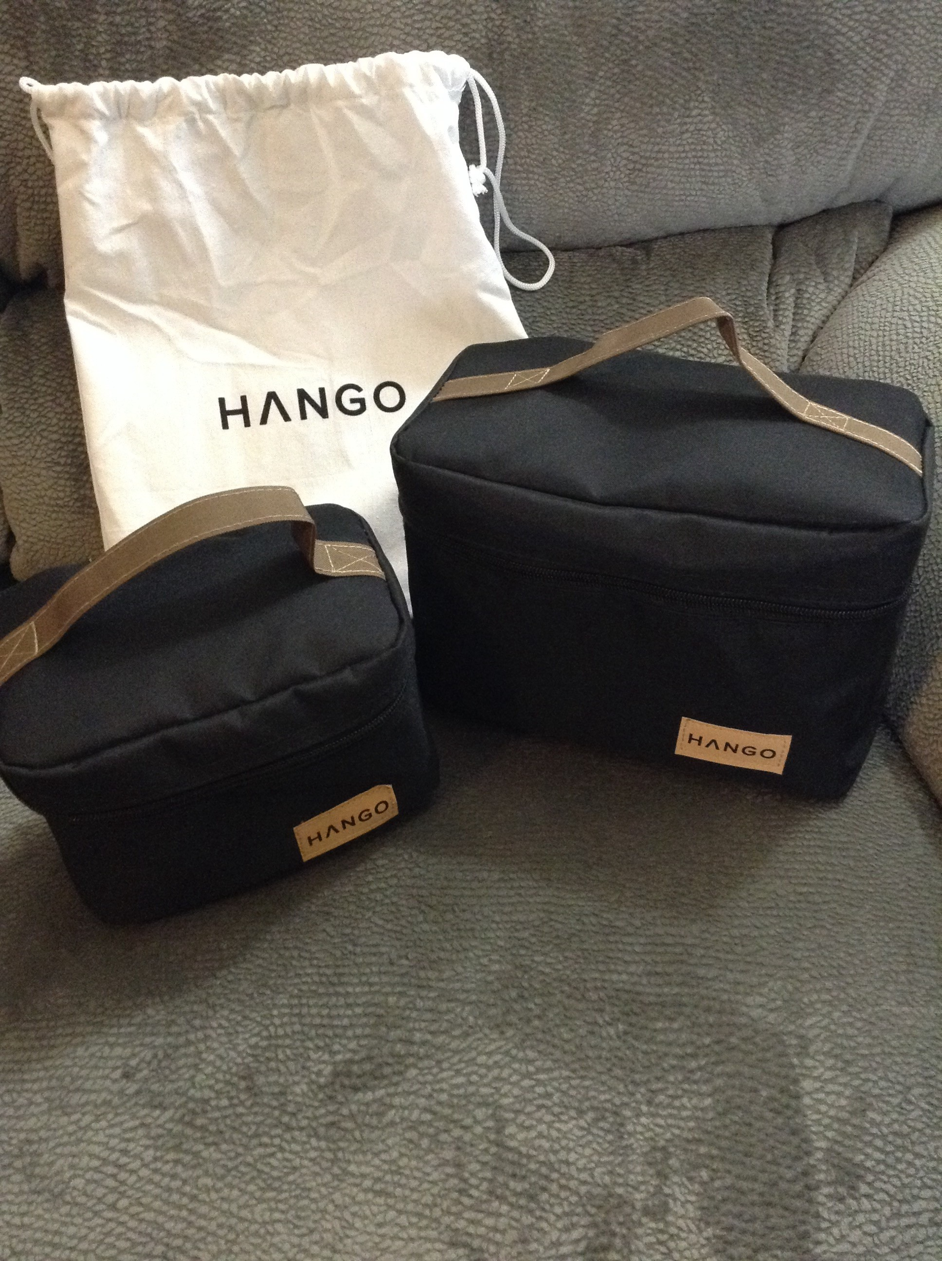 Lunch Bag Hango Set Of Two Sizes Small And Large By