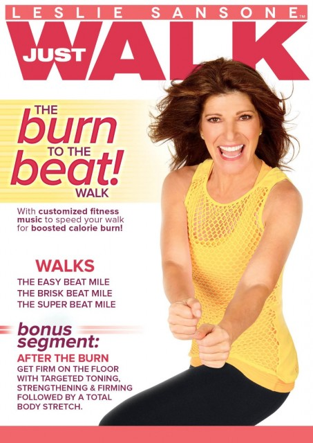 leslie sansone burn to the beat fitness walking dvd review and giveaway empowermoms. Black Bedroom Furniture Sets. Home Design Ideas