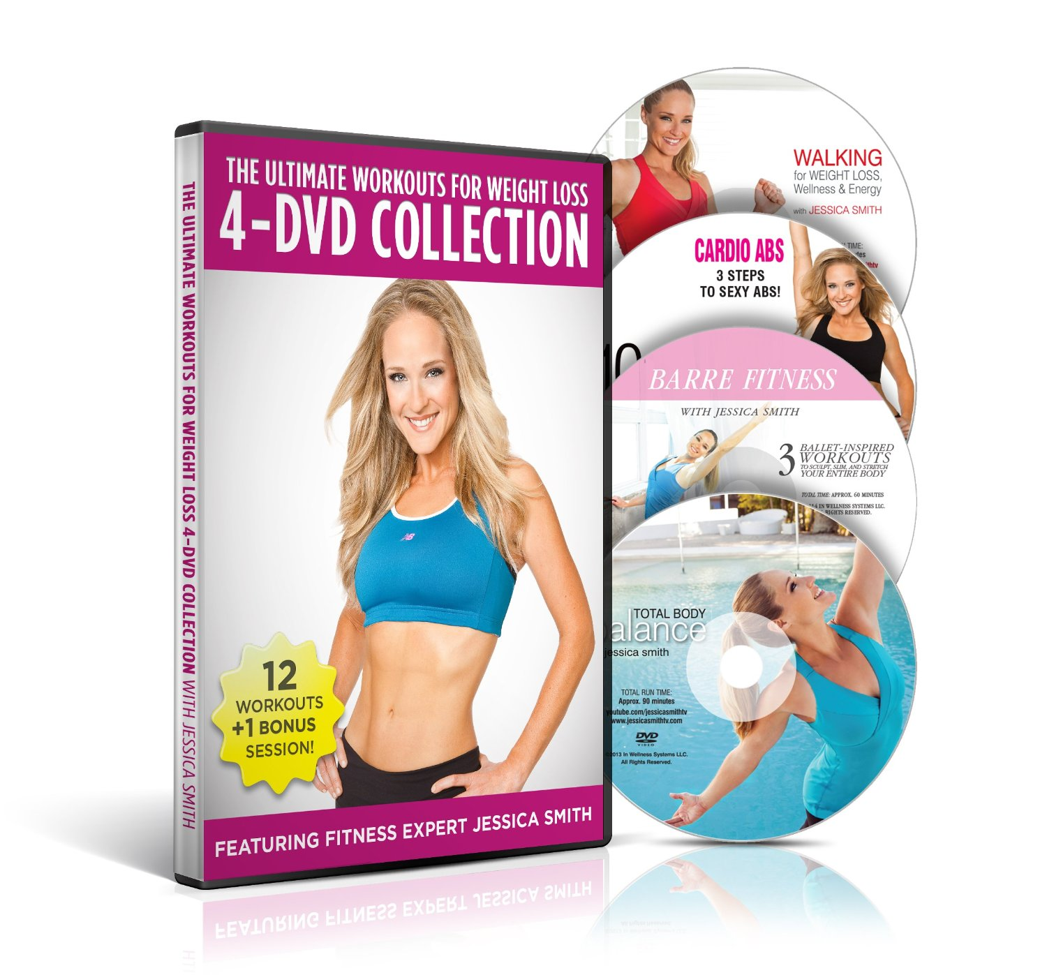 The Ultimate Workouts For Weight Loss 4 Dvd Collection