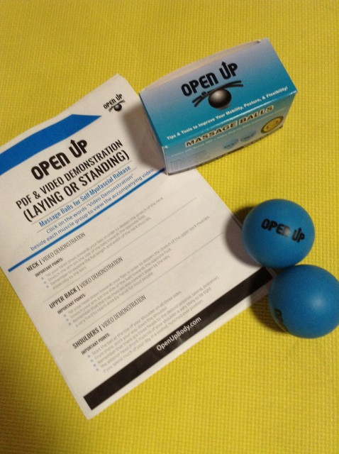 """Open Up"""" Massage Balls for Myofascial Release *product"""