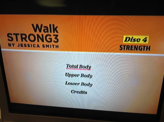 Jessica Smith presents Walk Strong 3: Brand new 8 week fitness